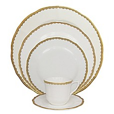 image of P by Prouna Antique Gold Dinnerware Collection