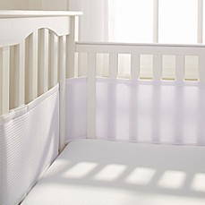 image of Breathable Baby® Deluxe Breathable Mesh Crib Liner in White
