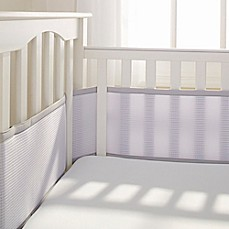 image of Breathable Baby® Deluxe Breathable Mesh Crib Liner in Grey