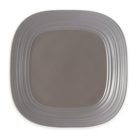 Mikasa® Swirl Square Platter in Mocha - Bed Bath & Beyond