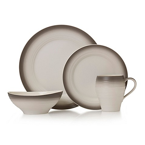 Mikasa\u0026reg; Swirl Ombre Dinnerware Collection in Mocha  sc 1 st  Bed Bath \u0026 Beyond & Mikasa® Swirl Ombre Dinnerware Collection in Mocha - Bed Bath \u0026 Beyond