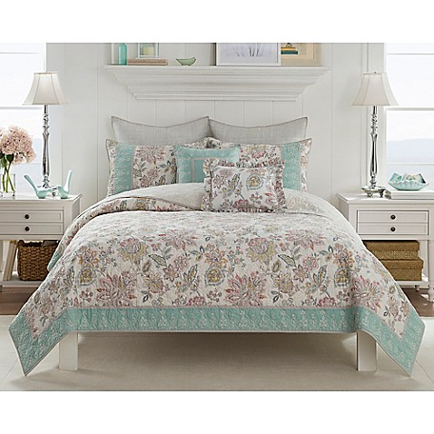 Claire Quilt - Bed Bath & Beyond : aqua king quilt - Adamdwight.com