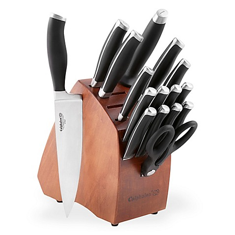 Calphalon Reg Contemporary 17 Piece Knife Block Set