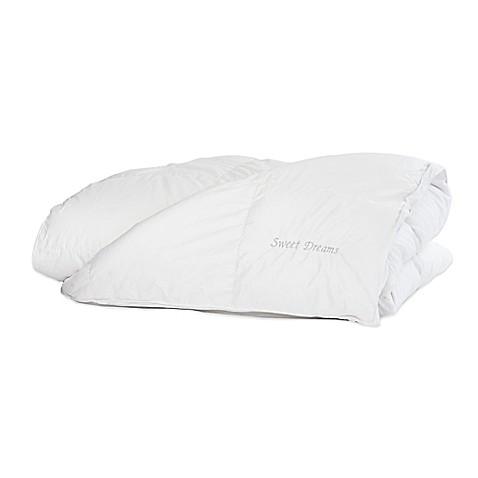 the pillow bar breakfast in bed sweet dreams down alternative duvet in white bed bath u0026 beyond