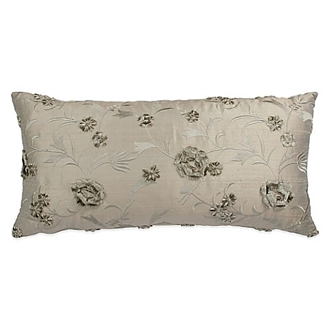 Throw Pillow Bolster : Austin Horn Collection Cascata Floral Bolster Throw Pillow - Bed Bath & Beyond