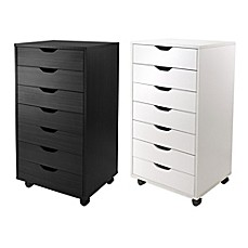 Image Of Winsome Trading Halifax 7 Drawer Storage Cabinet