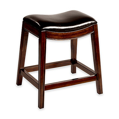 buy kenton wood 26 inch backless counter stool in espresso from bed bath beyond. Black Bedroom Furniture Sets. Home Design Ideas