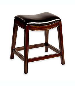 Banco alto de madera para barra de cocina Hillsdale Furniture Kenton®, 66.04 cm en espresso