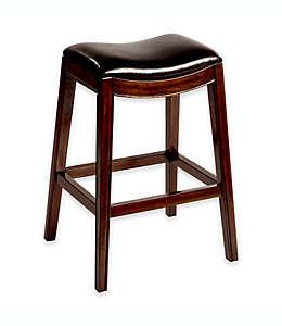 Banco alto de madera para barra de bar Hillsdale Furniture Kenton®, 76.2 cm en espresso