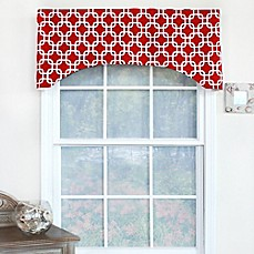 Image Of RL Fisher Chained Arch Window Curtain Valance