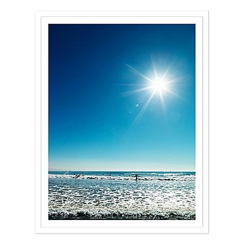 beach beneath a blue sky usa extra large photographed. Black Bedroom Furniture Sets. Home Design Ideas