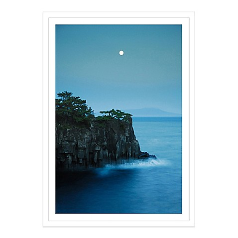moonlight on jogasaki coast extra large photographed. Black Bedroom Furniture Sets. Home Design Ideas