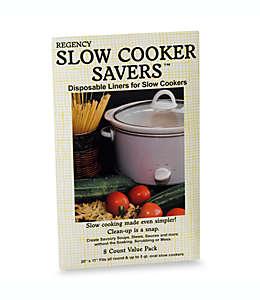 Bolsas de cocción lenta Regency, Set de de 8 pzas