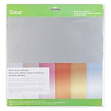image of Cricut® Metallic Poster Board Sheets (Set of 6)