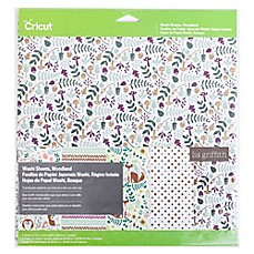 image of Cricut® Woodland Washi Sheets (Set of 5)