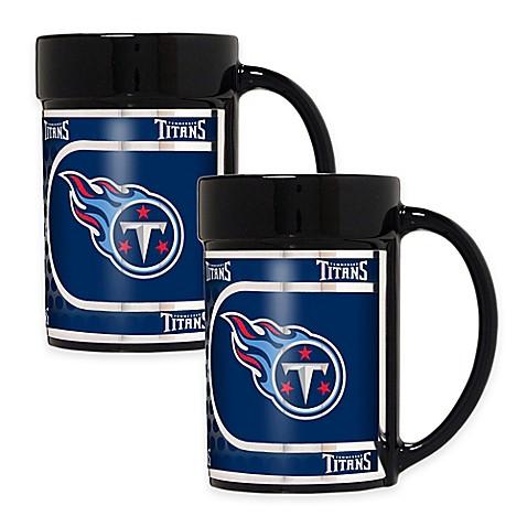 Buy Nfl Tennessee Titans Metallic Coffee Mugs Set Of 2
