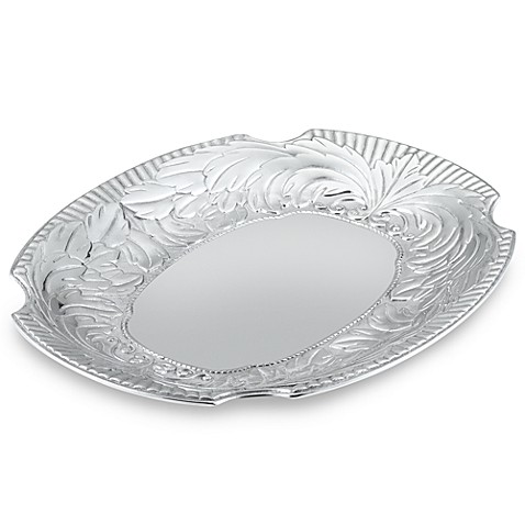 Wilton Armetale® Acanthus Large Oval Tray