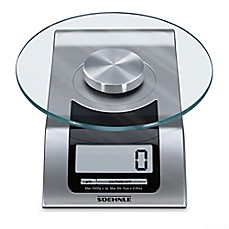 image of Soehnle STYLE Precision Digital Food Scale in Silver