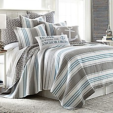 Superior Image Of Provincetown Reversible Quilt In Grey ...
