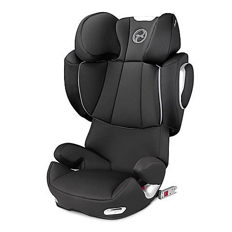 cybex platinum solution q2 fix highback booster seat in black beauty buybuy baby. Black Bedroom Furniture Sets. Home Design Ideas