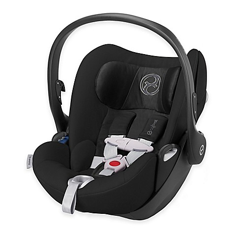 cybex platinum cloud q infant car seat with load leg base in black beauty buybuy baby. Black Bedroom Furniture Sets. Home Design Ideas