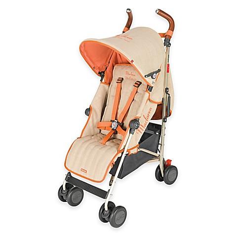 maclaren scarlet collection quest stroller in linen buybuy baby. Black Bedroom Furniture Sets. Home Design Ideas