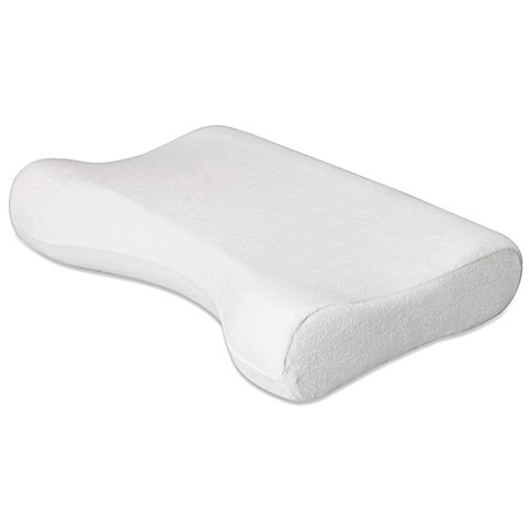 Contour Cervical Side Sleeper Medium Pillow in White ...