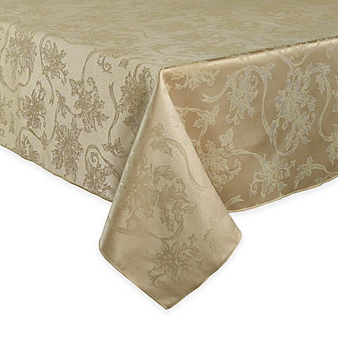 Buy Christmas Ribbons 60 Inch X 120 Inch Oblong Tablecloth