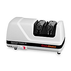 image of Chef'sChoice® Diamond Hone® Professional White Electric Knife Sharpener