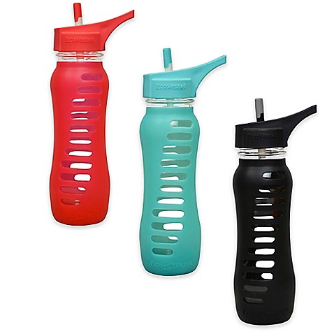 Eco Vessel 174 Surf Sport 22 Oz Glass Water Bottle With