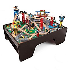 image of KidKraft® Super Highway Train Set and Table