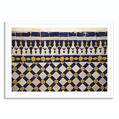 moroccan shape extra large framed photographic wall art. Black Bedroom Furniture Sets. Home Design Ideas