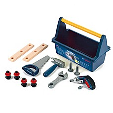 image of Theo Klein Bosch 18-Piece Tool Box with Ixolino