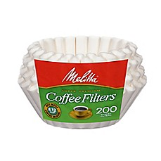 image of Melitta Basket Coffee Filters (200 Count)