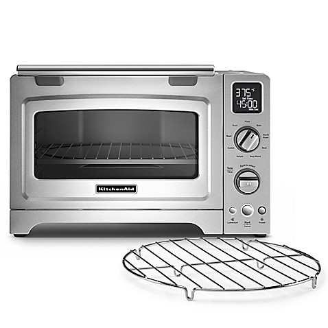 Kitchenaid Countertop Convection Oven Dimensions : KitchenAid? 12-Inch Convection Digital Countertop Oven in Stainless ...