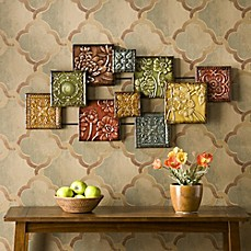 Wall Metal Decor metal wall decor - bed bath & beyond