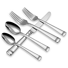 image of Vera Wang Wedgwood® with Love Flatware 5-Piece Place Setting