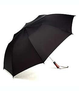 Paraguas jumbo de poliéster Shedrain® Rain Essentials automático color negro