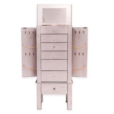 Jewelry Armoires Wall Mount Jewelry Armoire Jewelry Cabinet Over