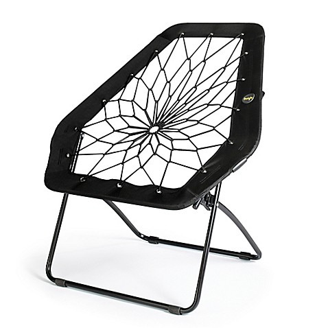 Bunjo 174 Oversized Bungee Hex Chair In Black Bed Bath Amp Beyond