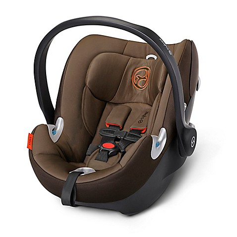 cybex platinum aton q infant car seat in coffee bean buybuy baby. Black Bedroom Furniture Sets. Home Design Ideas