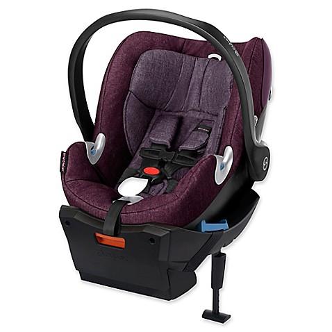 buy cybex platinum aton q plus infant car seat in grape. Black Bedroom Furniture Sets. Home Design Ideas