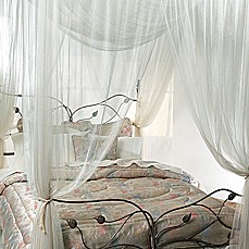 image of Majesty Ivory Large Bed Canopy