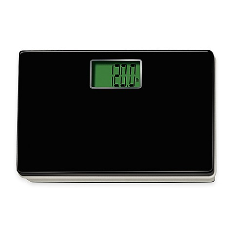 Exceptionnel Digital Talking Regular Size Bathroom Scale In Black