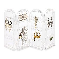 Jewelry storage jewelry organizers holders hangers for Bathroom jewelry holder