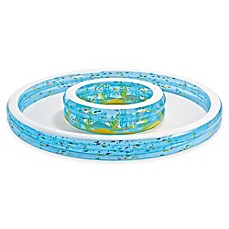 image of Intex® Wishing Well Pool with Sprayer in Blue