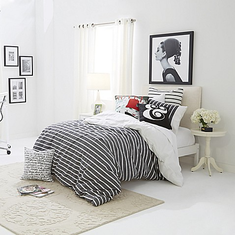 Classic & Graphic—kate spade new york Harbour Stripe - Bed Bath & Beyond