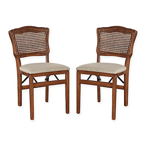 stakmore back wood folding chairs set of 2