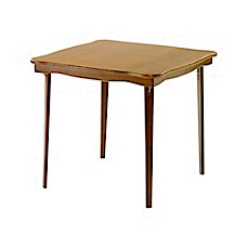Stakmore 32 Inch Scalloped Edge Folding Card Table