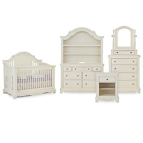 premier addison nursery furniture collection in pearl white